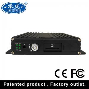 China H 264 4 Channel Vehicle Security Camera System Mobile Car Dvr Kit 1920 * 1080P on sale