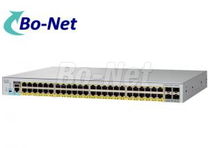 China Cisco WS-C2960L-48TQ-LL Cisco Gigabit Switch 48 port Ethernet ports 4 x 10G SFP+ gigabit switches on sale