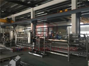 China Fruit Pulp Processing Equipment Oil And Milk Bottle Filling Machine 10000LPH on sale
