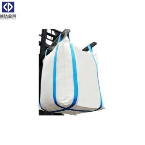 China Easy Remove PP Bulk Bags 1000KG FIBC Bags With White Color Polypropylene on sale