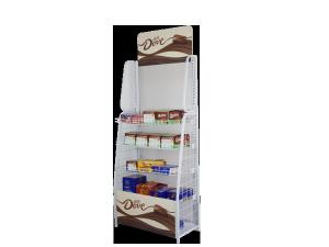 China Customized candy,chocolate display stand/floor standing candy display racks for supermarkets on sale