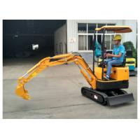 1.8T 1800kg Mini Excavator Stable Performance 1130mm Arm Length CE Certificated
