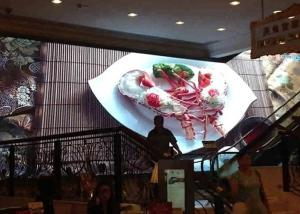 China P 3.91 Audio Visual Display Electronic Signs Led Display 500x1000MM on sale