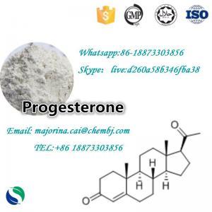 China Progesterone Female Sex Powder Increasing Hormones 98% Purity CAS57-83-0 on sale