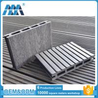 Eco-friendly High Quality Interlocking outdoor deck tiles WPC DIY Flooring