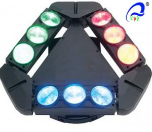 China 9 Heads 10W 4in1 RGBW LED Spider Moving Head Stage Light Quad - Color 5 Degree on sale
