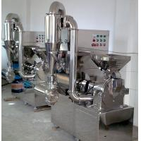 China High Speed Herbal Crushing Machine , Easy Operation Medicine Pulverizer on sale