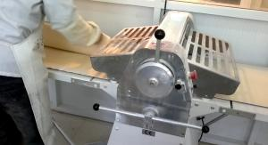 China Dough Sheeting Machine , Croissant Machines with PLC System Designed on sale