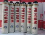 Fire Proof PU Foam Spray Can / Aerosol Polyurethane Foam Insulation B2 Grade