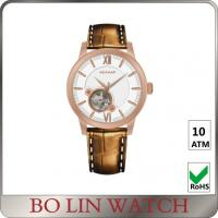 China Classic Black / Gold Stainless Steel Automatic Watches 40 - 44mm Size on sale