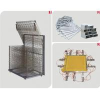 dry-layer rack/Melaleuca frame&Aluminum net screen frame&Pneumatic mesh Large Size Silk Screen Stretching Machinery
