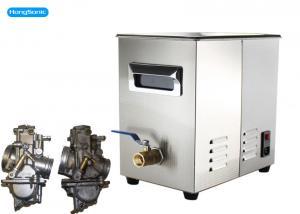 China Power Adjustable Ultrasonic Carb Cleaner With Digital Ultrasonic Timer 30 Liter 500 Watt on sale
