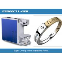 China Small UV Stainless Steel Laser Engraving Machine , CNC Metal Marking Machine Durable on sale