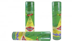 China 600ml Alcohol Based Fly Insecticide Spray For Home Or Hotel Lemon Smell on sale