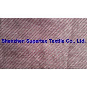 China Linen Cotton Nylon Jacquard Slant Stripes Large Twill Yarn Dyed on sale
