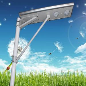 China Outdoor industry high power LED high lumens integrated solar street light on sale