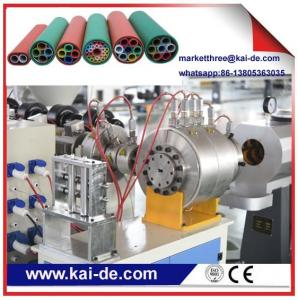 China HDPE  microduct extrusion machine for air blowing fiber 5/3.5mm, 10/8mm,12/10mm on sale