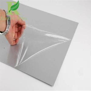 China 0.03-0.15mm Transparent Best Selling Protective Film for Acrylic Sheet on sale