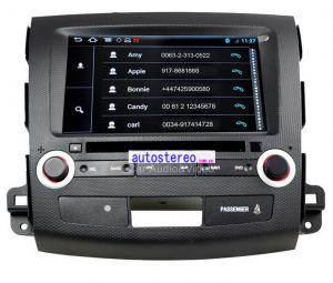 China Android 4.0 Stereo for Mitsubishi Outlander GPS Sat Nav Multimedia DVD Player Android Car Sat Nav on sale