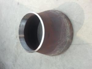 China steel plate welded concentric large diameter steel pipe reducer on sale