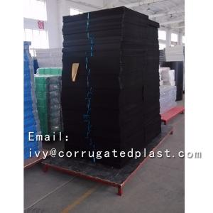 China Polypropylene pp material carton plastic sheet plastic corrugated sheets for box on sale