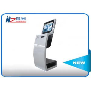 China Multitouch Digital Library Self Checkout Machines / Touch Screen Information Kiosk on sale