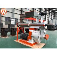 Steam Conditioner Feed Pellet Machine With Grain Grass Φ350mm Ring Die 5t/H