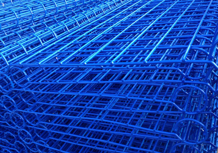 PVC Coated Double Loop Wire Fence for sale – BRC Roll Top Wire Fence ...