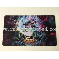 Custom Print Large Mouse Mat Natural Rubber Foam For Yu-Gi-Oh