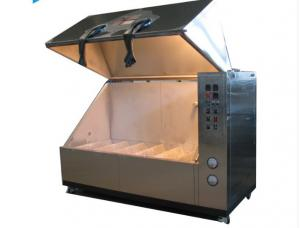 China Powder Coated Sand Dust Test Chamber 216L - 1000L 5s Swirl Time For Electronic Product on sale