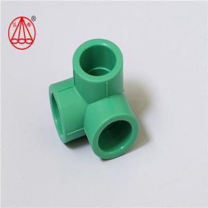 China SN2.5 2.5MPa PN25  Female Tee Fitting , Ppr Pipe Elbow Heat Proof  Easy Installation on sale