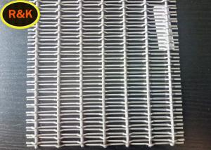 China 304 Silver Powder Coated Wire Mesh Acid Alkali Resistant Max Length 8m on sale
