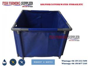 China Collapsible Tarpaulin PVC Fish Tank Manufacturer on sale
