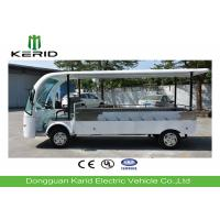 7.5kW 2 Person Electric Utility Cart Electric Cargo Bus With Heavy Payload