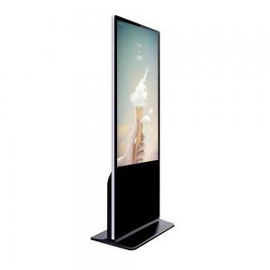 China Advertisement 55 Inch Android Touch Screen Kiosk With Capacitive Touch Windows System on sale