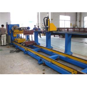 China Industrial Plasma CNC Pipe Cutting Machine For Mild Steel / Stainless Steel Pipe on sale