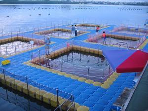 Quality Ponton de HDPE pour la pisciculture for sale