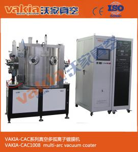 China TiN / Titanium Nitride Plating,  PVD Ion Plating Machine, Gold  Cathodic Arc Vacuum Plating Machine on sale