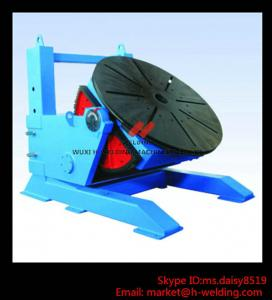 China Height Adjusting Automated Pipe Welding Positioner Turntable For Vessel Loading And Machining on sale
