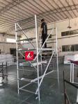 Work Bench Aluminium Scaffolding Frames Portable Scafolding Adjustable Work