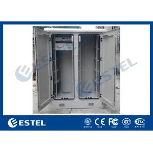 China Dustproof Base Station Outdoor Communication Cabinets Low Power Consumption on sale