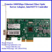 China Femrice 1000Mbps Single Port Gigabit Ethernet PCI Express x4 Server Adapter on sale