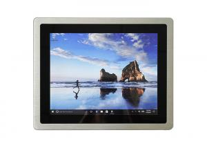 China Front Bezel IP65 Embedded Touch Panel PC I5 CPU With 4G RAM 256G Hard Disk on sale
