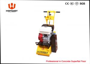 China Walk Behind Floor Scarifying Machine , Concrete Grooving Machine Model Japan HONDA on sale