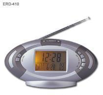 China FM Auto Scan Radio with Digital Calendar Clock on sale