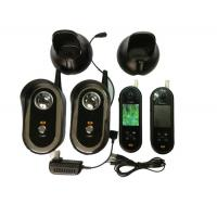 2.4ghz Video Door Entry Intercom Systems With 2 Monitor And 1 Camera
