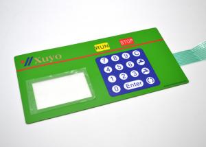 China PET Material Embossed Membrane Keypad Electrical Switch For Running Machine on sale