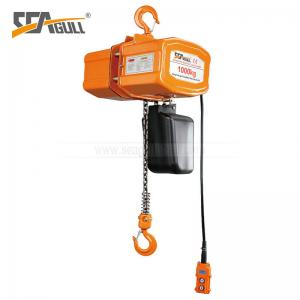 China Safety Heavy Load Electric Chain Hoist  Dust And Water Proo on sale