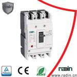 Compact Adjustable MCCB DC 1000V Short Circuit Current 5 Frame Sizes Industrial