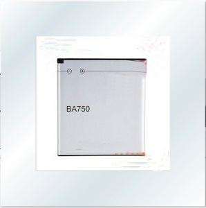 China Factory Battery BA750 Battery for sony ericsson lt18i on sale
